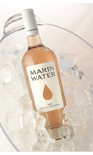 Marin Water Rosé Beauty Image