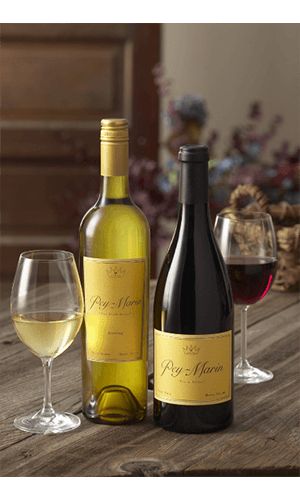 Pey-Marin Vineyards Riesling & Pinot Noir Beauty Image